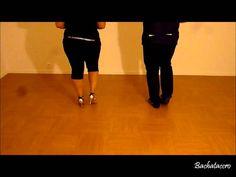 Apprendre la Bachata - Part.1 Pas de Base (Basic Step) Zumba, Salsa, Gym, Fitness, Youtube, Sports, Dancers, Pilates, Step By Step