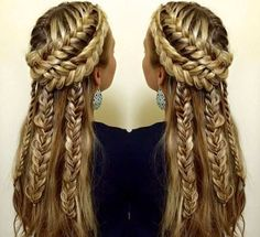 intricate hairstyles - Google Search