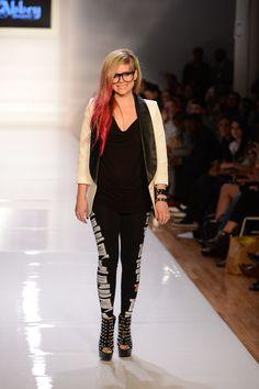 Avril Lavigne's Abbey Dawn Spring 2013 New York Fashion Week