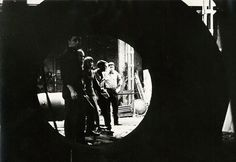 """Gruppo T Officine 1962.  Gruppo T (Anceschi, Boriani, Colombo, Devecchi) is founded in 1959. 'Miriorama"""" which can be described as a theoretical platform and a technical manifesto, collective and solo manifestations of the group.  """"Miriorama"""" (never-ending visions, from the Greek """"orao"""", to see, and """"myrio"""", which denotes a nearly uncountable quantity), numbered consequently (1-14) in order to stress the continuity"""