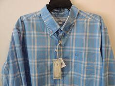 Southern Tide Mens Skip Jack Blue Nova Check Ocean Channel Plaid Shirt XL NWT    #SouthernTide #ButtonFront