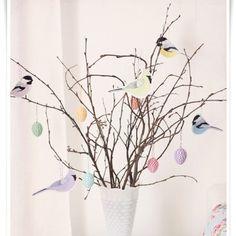 Hent inspirasjon fra bloggernes gjør det selv-tips og pynt med hjemmelagede dekorasjoner til påske!