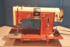 This German, Pfaff-made sewing machine looks very similar to the Pfaff-built White sewing machine.