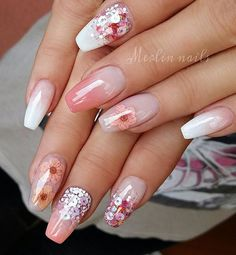Whether you plan to DIY your nail design at home or take the inspiration to a technician, these top ideas are sure to get you excited and fired up for some new fabulous fingertips. Best Winter Nail Art Designs You Need to Copy. Winter Nail Art, Winter Nail Designs, Cool Nail Designs, Winter Nails, Floral Nail Art, Nail Art Diy, Cool Nail Art, Pretty Nail Art, Beautiful Nail Art