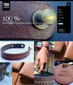 Web desain makassar TOBO Leather Goods