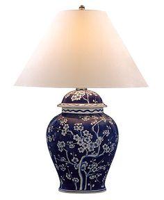 Lauren Ralph Lauren Table Lamp, Cherry Blossom Porcelain
