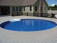 1000 Images About Above Ground Pool Decks On Pinterest