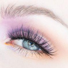 Glossy, Mustard, Gold and Lavender Makeup Look Makeup Geek, Makeup Inspo, Beauty Makeup, Eye Makeup, Glossy Lids, Glossy Makeup, Basic Makeup Tutorial, Makeup Drawing, Melt Cosmetics