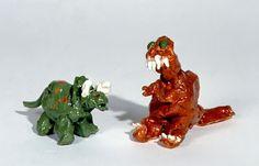 Triceratops. Age 4, Tyrannosaurus rex. Age 4