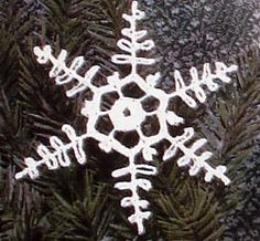 Crochet Fancy Christmas Ornaments, Snowflakes, and Decorations for the Home Crochet Christmas Decorations, Crochet Ornaments, Christmas Decorations For The Home, Crochet Crafts, Sewing Crafts, Crochet Projects, Free Crochet, Crochet Star Patterns, Crochet Stars