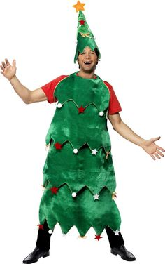 6e0a65d00f254 Adult Christmas Tree Costume. Lutin De NoelDéguisement ...
