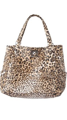 Shop Around Tote - Leopard by Kenneth Cole REACTION $44 (60% off) >> I am not to into animal print, but I think this bag would make for a pretty cool accessory for a simple casual outfit.