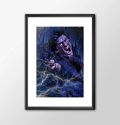 Harry Potter in Action - Print - BUY 2 Get 1 FREE by ShamanAlternative on Etsy