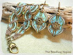 Google Image Result for http://www.thebeadingyogini.com/wp-content/uploads/2012/09/DoubleWave-Bracelet-and-Tin-Earring-Set-by-The-Beading-Yogini.jpg