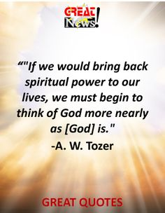"""From Great News! Daily, """"Balance of Power: God of Creation,"""" Monday, June 16, 2014. #trinity #creation #equality Subscribe: http://ui.constantcontact.com/d.jsp?m=1115825817296&p=oi"""