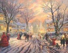 Thomas Kinkade Victorian Christmas ..