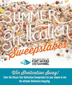 Choose how you want to shellebrate summer for the chance to win the ultimate summer beach bag!