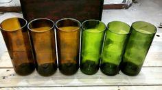 A través del cristal. #Vasos #Vino #DAP #Diseño #Reciclaje #Mexico