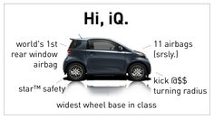 2013 Scion iQ Stats | Compare the 2013 Scion iQ with the 2013 Fiat 500 | Small cars Microcars
