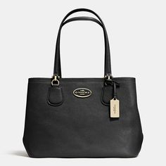KITT CARRYALL IN CROSSGRAIN LEATHER