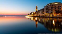 L'alba sul lungomare di Bari Bari, Alba