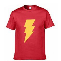 Flash Super hero Fashion Print 100% Cotton Men's T-shirt