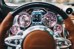 Pagani Huayra: The Steampunk Hypercar interior that will blow your mind