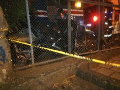 Hombre fallece en choque de carro contra el tren en San José