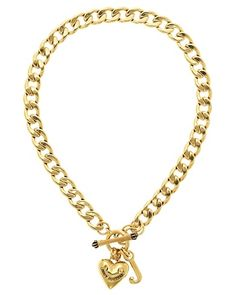 Juicy Couture | Necklaces for Women - Gold Starter Necklace
