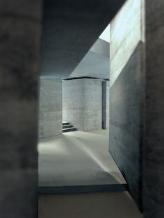 Alain de Botton on Living Architecture.  Render of Peter Zumthor's The Secular Retreat, part of Living Architecture. Image courtesy Peter Zumthor.