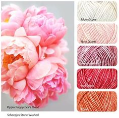 Scheepjes Stone Washed - Prefect for that Vintage Heirloom piece Yarn Color Combinations, Colour Schemes, Color Blending, Color Mixing, Yarn Inspiration, Colour Pallette, Design Seeds, World Of Color, Color Swatches