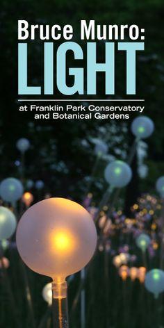 Bruce Munro: Light opens September 25 at Franklin Park Conservatory!