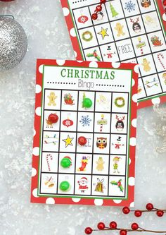 Christmas Bingo is a fun and easy game to play at a holiday party or just at home with the kids. Grab these free printable boards and have fun today!