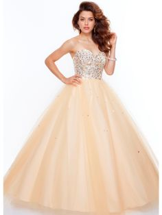 Buy Fantastic Ball Gown Sweetheart Floor Length Prom Dress under 200-SinoAnt.com