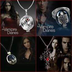 The Vampire Diaries Jewelry Bundle FREE Just Pay Shipping!! Hey Vampire Diaries Fan! Checkout This Awesome Bundle! You Get 4 Pieces Worn By Your Favorite Vampir