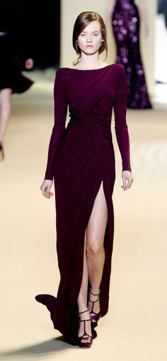 elie saab. the amazing sleekness.