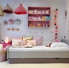 Kids Room Colour Scheme Pastel 46 Ideas For 2019 Room Color Schemes, Room Colors, Ideas Dormitorios, Deco Kids, Toddler Rooms, Kids Rooms, Kids Room Design, Little Girl Rooms, Cool Rooms