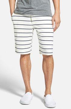 Men's PUBLISH BRAND Brushed Stripe Knit Shorts