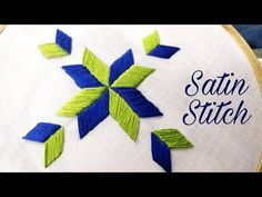 Awesome Most Popular Embroidery Patterns Ideas. Most Popular Embroidery Patterns Ideas. Best Embroidery Machine, Hand Embroidery Videos, Embroidery Stitches Tutorial, Embroidery Techniques, Phulkari Embroidery, Simple Embroidery, Hand Embroidery Patterns, Sewing Patterns, Indian Embroidery