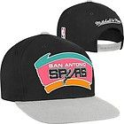 For Sale - 1 NBA Mitchell & Ness San Antonio Spurs Black/Gray Snapback Flat Brim Hat - http://sprtz.us/BucksEBay