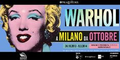 Milano celebra Andy Warhol per l'Autunno Americano - kalapanta.it - http://www.kalapanta.it/2013/10/28/milano-celebra-andy-warhol-per-lautunno-americano/