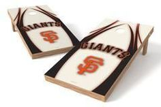 San Francisco Giants Single Cornhole Board - The Edge