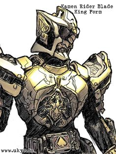 After a long time, here comes another Kamen Rider based on SIC version of the character ! Kamen Rider Blade is (c) Ishinomori Prod SIC is (c) Bandai