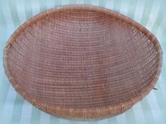 Antique Japanese basket 36 inch hand woven by TheMadSquirrel, $87.50