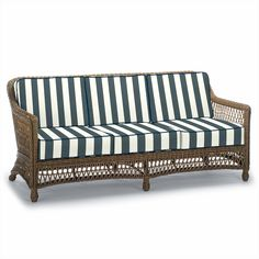 Hampton Sofa with Cushions in Driftwood Finish - Frontgate