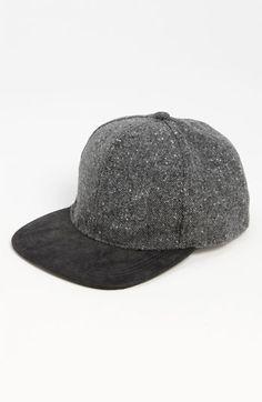 280ddebc64a Topman Tweed Snapback Baseball Cap