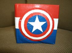 Captain America Duct Tape Wallet