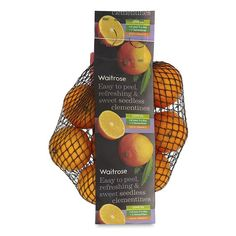 Seedless Clementines Waitrose at Ocado - because a stocking isn't complete without one!