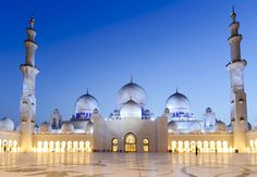 Sheikh Zayed Bin Sultan Al Nahyan Mosque by Speirs + Major - Abu Dhabi | United Arab Emirates | 2008