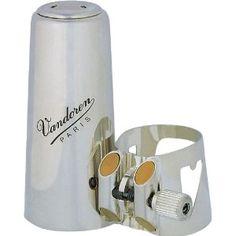 Vandoren LC01P Ligature Clarinet Optimum Silver Plated, Plastic Cap